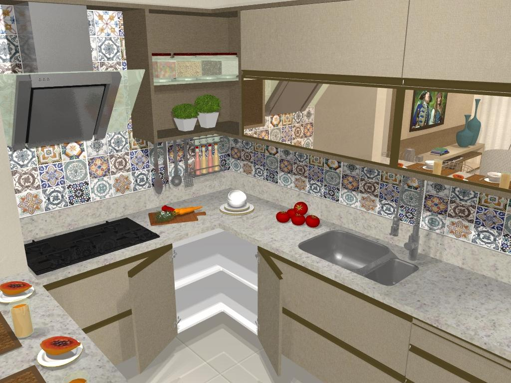 Cozinha Planejada #485E25 1024 768
